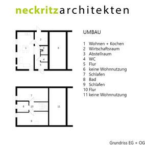 Grundriss Monterkampshof in Neukirchen-Vluyn