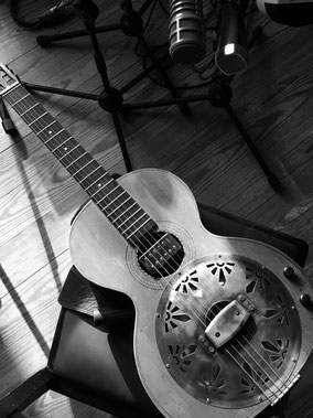Slideguitar Hamburg Blues Peter Resonator
