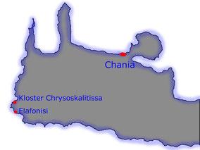 Elafonisi Chrisosokalitissa Kreta