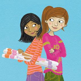 Jugendbuch-Illustration Tina Schulte