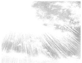 マンガスクール・はまのマンガ倶楽部/トーン削りによる雲02
