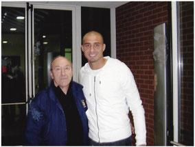 Etienne Rippert avec David Trezeguet (2007)