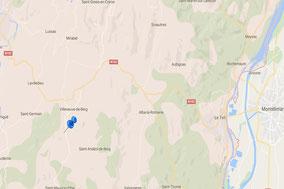 Où trouver le gite Malchanet - gite de groupe en Ardèche