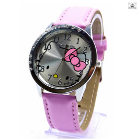 montre hello kitty rose pour fille