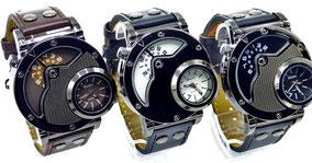 montre quartz bracelet cuir