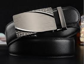 ceinture homme luxe cuir noir