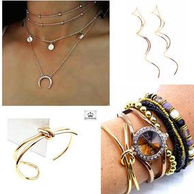box bijoux créateur pour femme tendance or