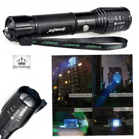 lampe tactique police