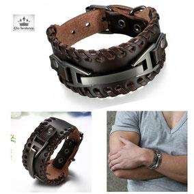 bracelet infini en cuir