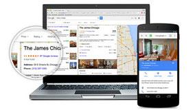Googleのホテル検索