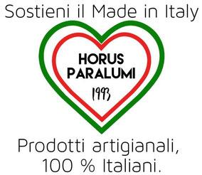 I nostri prodotti sono 100 % Made in Italy. Sostieni i paralumi fatti artigianalmente.