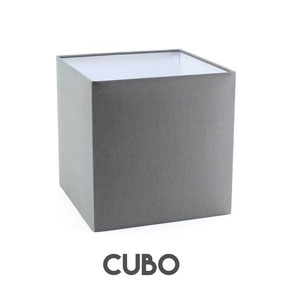 Paralume moderno cubo.