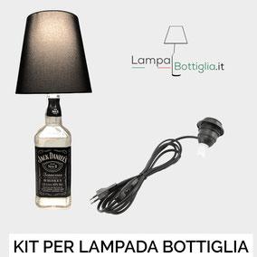 portalampada per lampada bottiglia