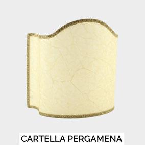 Paralume a ventola modello Cartella