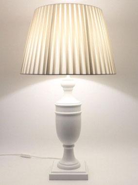 Lampada da tavolo in legno Ambra