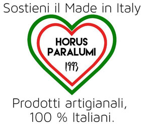 Paralumi Artigianali, 100 % Made in Italy.