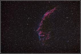 NGC 6992 / 6995 Cirrus-Nebel / Veil East Nebula