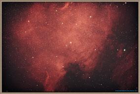 NGC 7000 Nordamerikanebel - Northamerica-Nebula