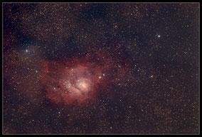 Messier 8 - Lagunennebel - M8 Lagoonnebula
