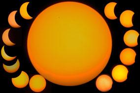 Partielle Sonnenfinsternis - Partial Solareclipse v. 20.3.2015