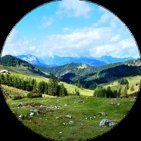 Etappen Hüttentour Kaisergebirge