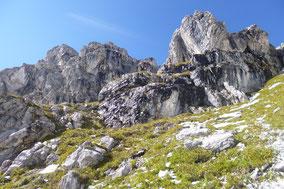 Hüttentour Oberstdorf Etappe 4