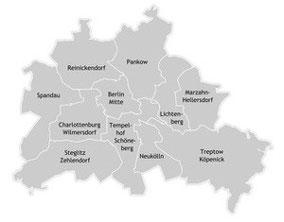 Sprachschulen Berliner Bezirke