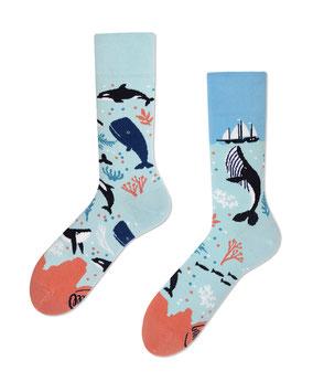 Many Mornings Unisex Socken