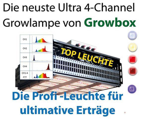 Cube die Ultimative LED Growlampe von Growbox