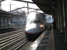 上越新幹線は2階建てのMaxときで