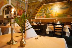 Restaurant Calcutta Innenbereich