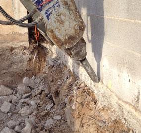 BRH frontignan terrassement fondation