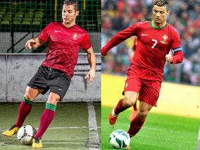 Cristiano Ronaldo Doppelgänger / Double Saki