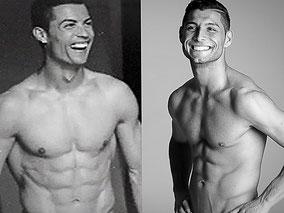 Cristiano Ronaldo Double und Doppelgänger Saki