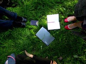 Poetry-Safri, Achtsamkeit, Kreativität, Wahrnehmung, Entschleunigung in Kiel