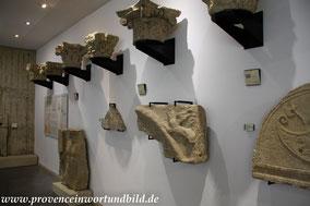Bild: Römische Ausgrabungen in Vaison-la-Romaine, Quartier de Puymin, Musée archéologique Théo-Desplans