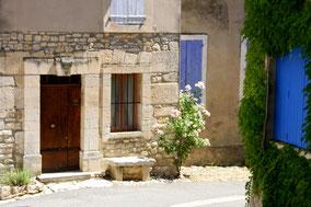 Bild: Haus in Monieux