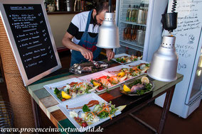Bild:  Restaurant Le Nauttea des Goudes
