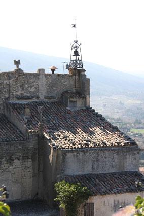 Bild: Glockenturm in Oppéde-le-Vieux