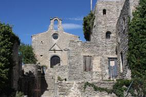 Bild: Chapelle Saint Michel de Transi in Saignon