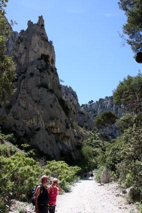 Bild: Der Weg zu Calanque d´En Vau