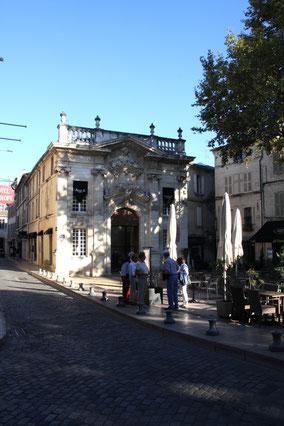 Bild: Place Crillon, Avignon