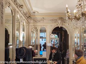 Bild: Hutgeschäft MOURET in der Rue des Marchandes 20 in Avignon