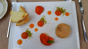 Bild: Cafe Fleurs, L´Isle sur la Sorgue
