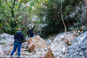 Bild: Wanderung in der Gorges de Régalon, Luberon