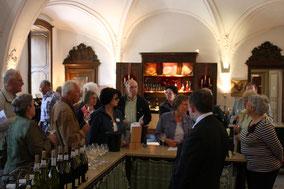 Bild: Weinprobe im Couvent des Cordeliers