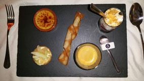 Nachtisch: Cafe Gourmand