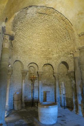 Bild: Taufkapelle oder Baptistère in Venasque, Vaucluse, Provence