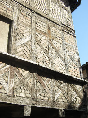 Bild: Fachwerkhaus in Bourg-en-Bresse
