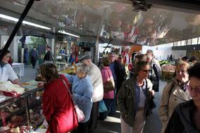 Bild: Markt in Bourg-en-Bresse